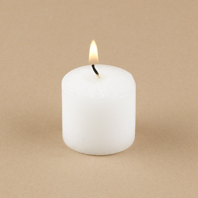 White Votive Candles