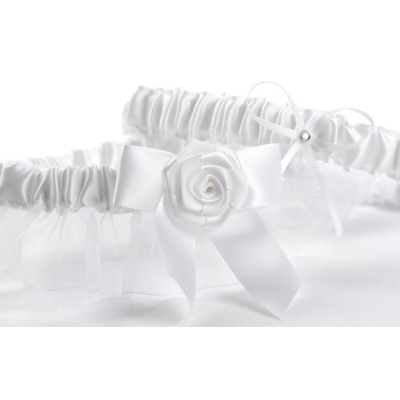 Sweet Rose Garter Set