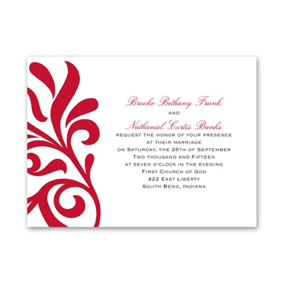 Flair for Style - Invitation