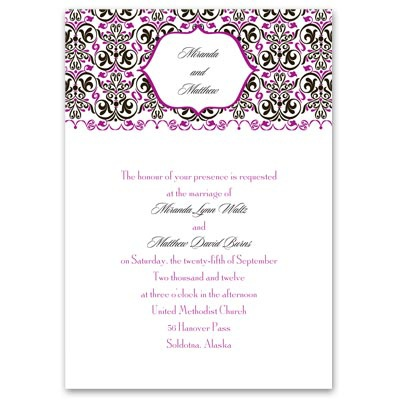 Filigree Whimsy - Petite Invitation