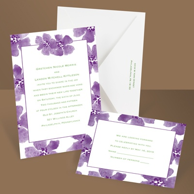 Soft and Sweet - Grapevine - Invitation