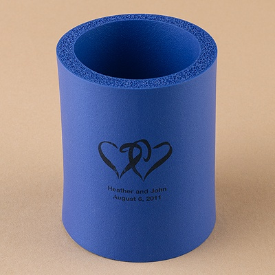Royal Blue Koozies - Personalized