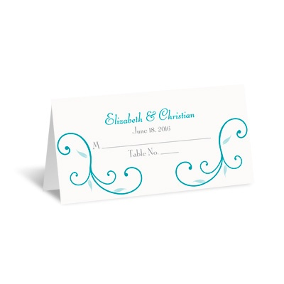 Budding Beauty - Place Card