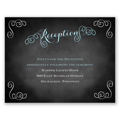 Most Special Day - Reception Card