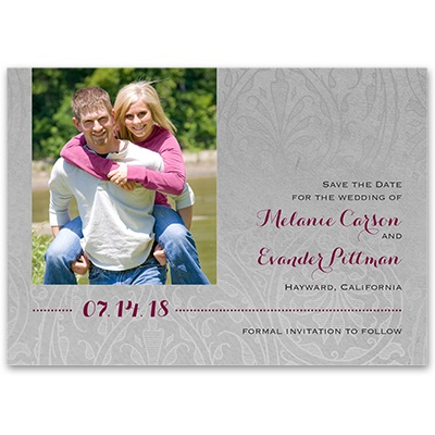 Forever Refined - Save the Date Card