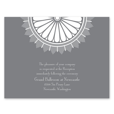 Art Deco Luxury - Reception Card