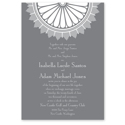 Art Deco Luxury - Invitation
