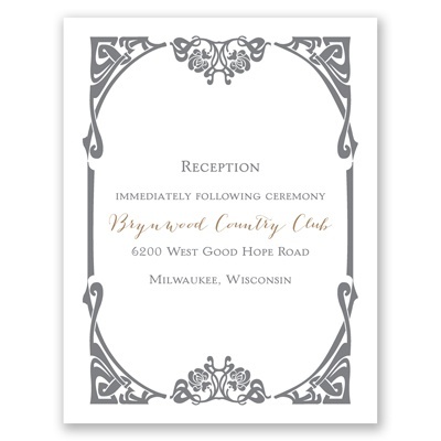 Distinct Style - Reception Card
