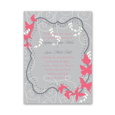 Butterfly Love - Petite Invitation