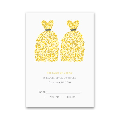 Beautiful Brides - Response Card
