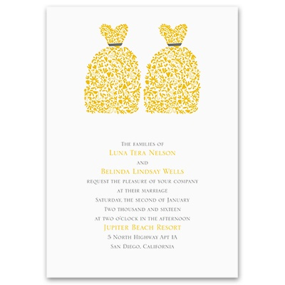 Beautiful Brides - Invitation