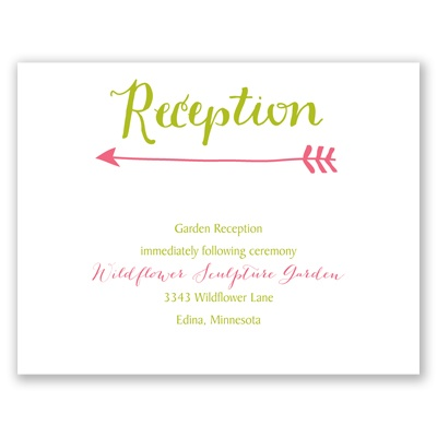 Join Us - Reception Card