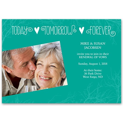 Everyday Love - Vow Renewal Invitation