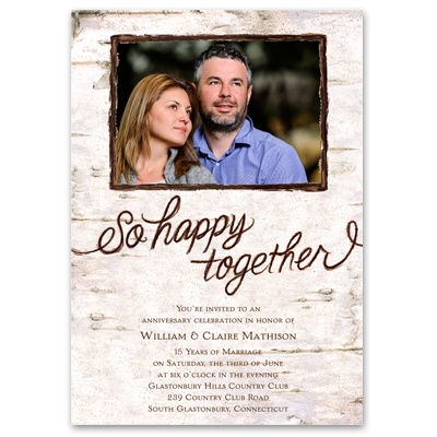 So Happy Together - Anniversary Invitation