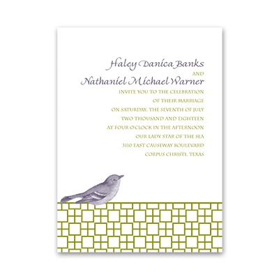 Feathered Friend - Petite Invitation