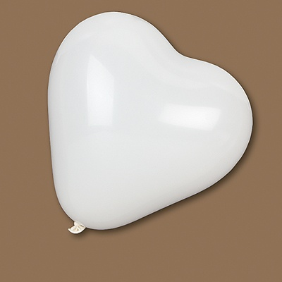 Pearl Balloon Heart