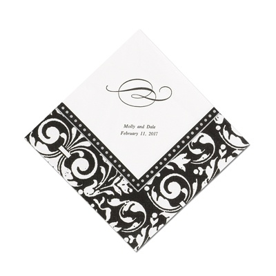 Damask Frame - Dinner Napkin
