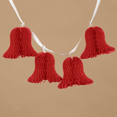 Bell Streamers - Red