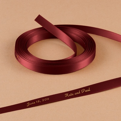 Wine - Personalized Favor Ribbon