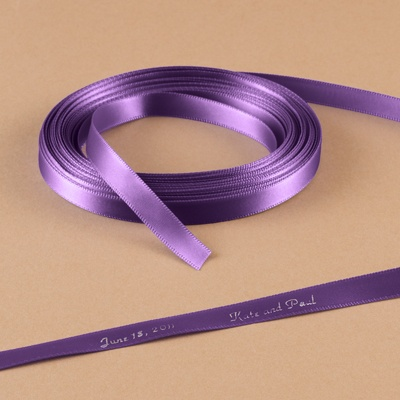 Amethyst - Personalized Favor Ribbon