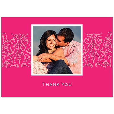 Lipstick Love - Photo Thank You Card and Envelope