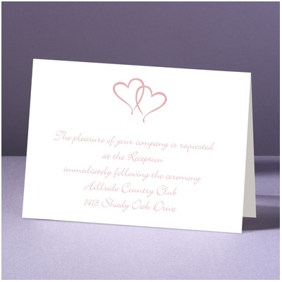 Sweet Hearts - Reception Card