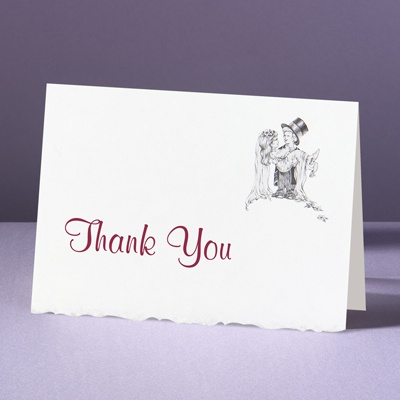 Days of Innocence - Thank You Card and Envelope