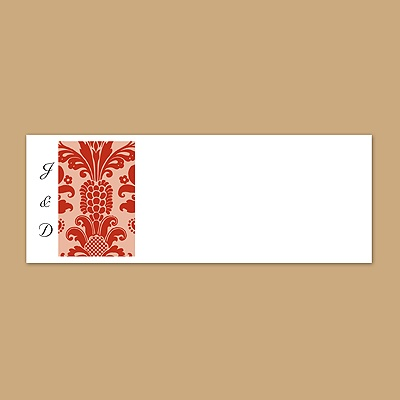 Clearly Refined - Scarlet - Print Your Own Mailing Labels