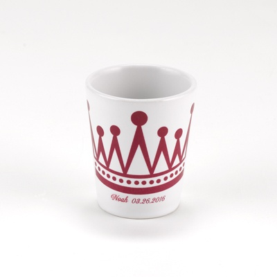 King's Crown Shot Glass