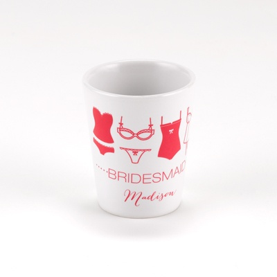 Lingerie Bachelorette Shot Glass - Bridesmaid