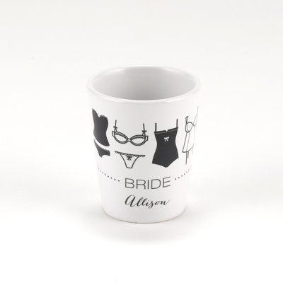 Lingerie Bachelorette Shot Glass - Bride
