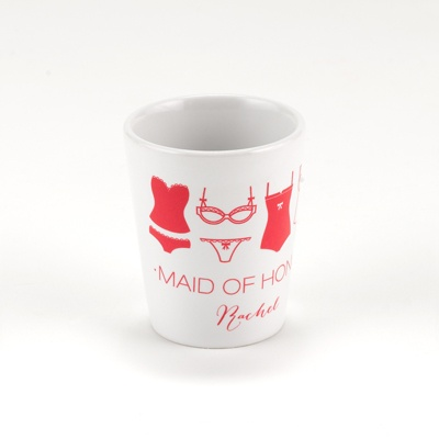 Lingerie Bachelorette Shot Glass - Maid of Honor