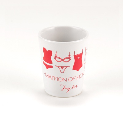 Lingerie Bachelorette Shot Glass - Matron of Honor