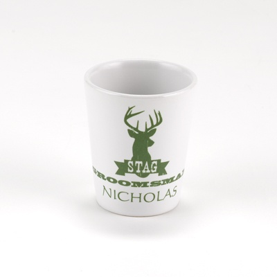Stag Shot Glass - Groomsman
