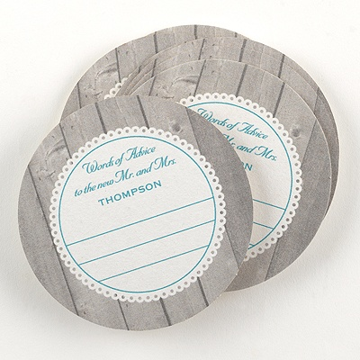 Rustic Lace Advice Coaster