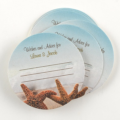 Starfish Advice Coaster