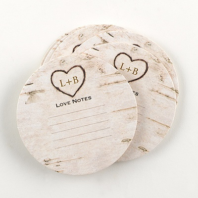 Carved Monogram Advice Coaster