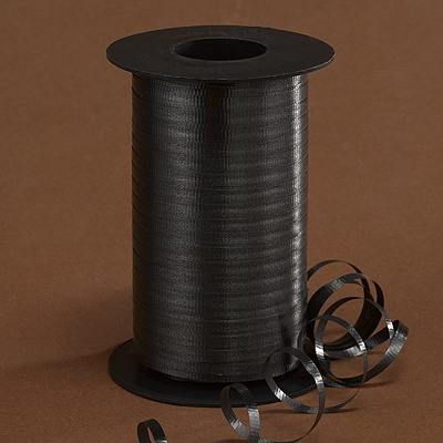 Black Curling Ribbon Roll