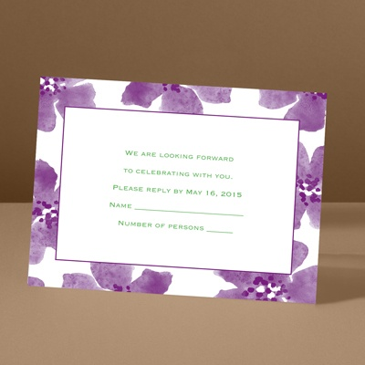 Soft and Sweet - Grapevine - Response Card and Envelope
