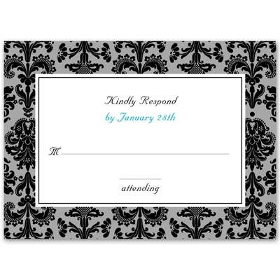 Clearly Refined - Response Card and Envelope