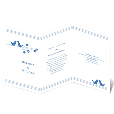 Perched Pair - Invitation