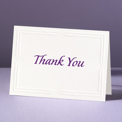 Intertwined Affection - Thank You Card and Envelope