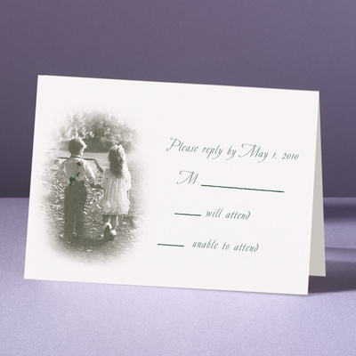 Young Love - Response Card and Envelope