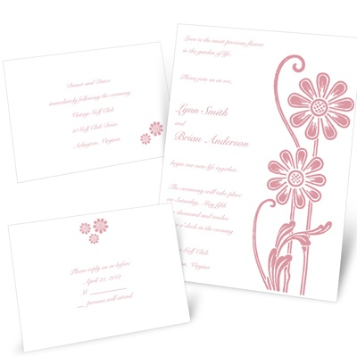 Standing Tall - Separate and Send Invitation