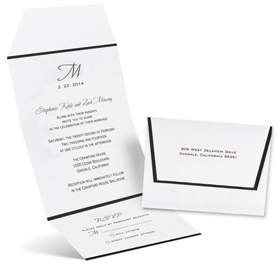 Formal Affair - Seal and Send Invitation