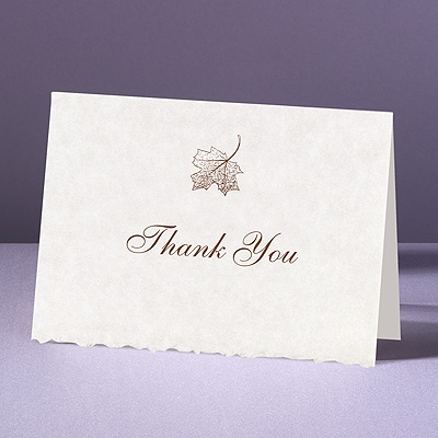 Falling In Love - Thank You Card and Envelope