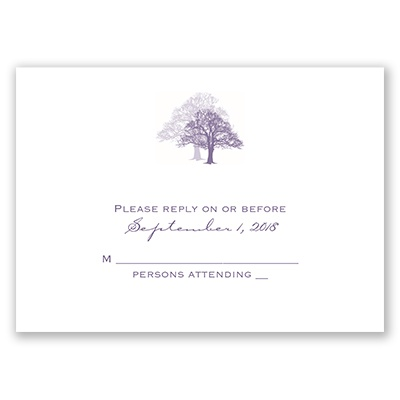 Rooted in Love - Response Card