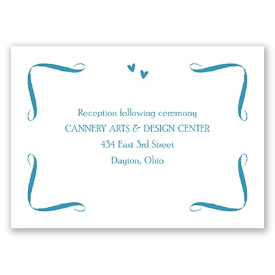 This Day Forward - Reception Card
