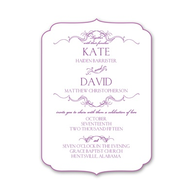 Simply Beautiful - Petite Invitation