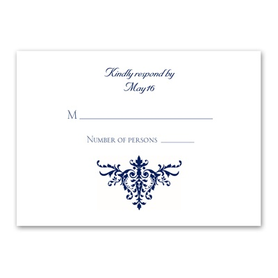 Pure Sophistication - Response Card and Envelope